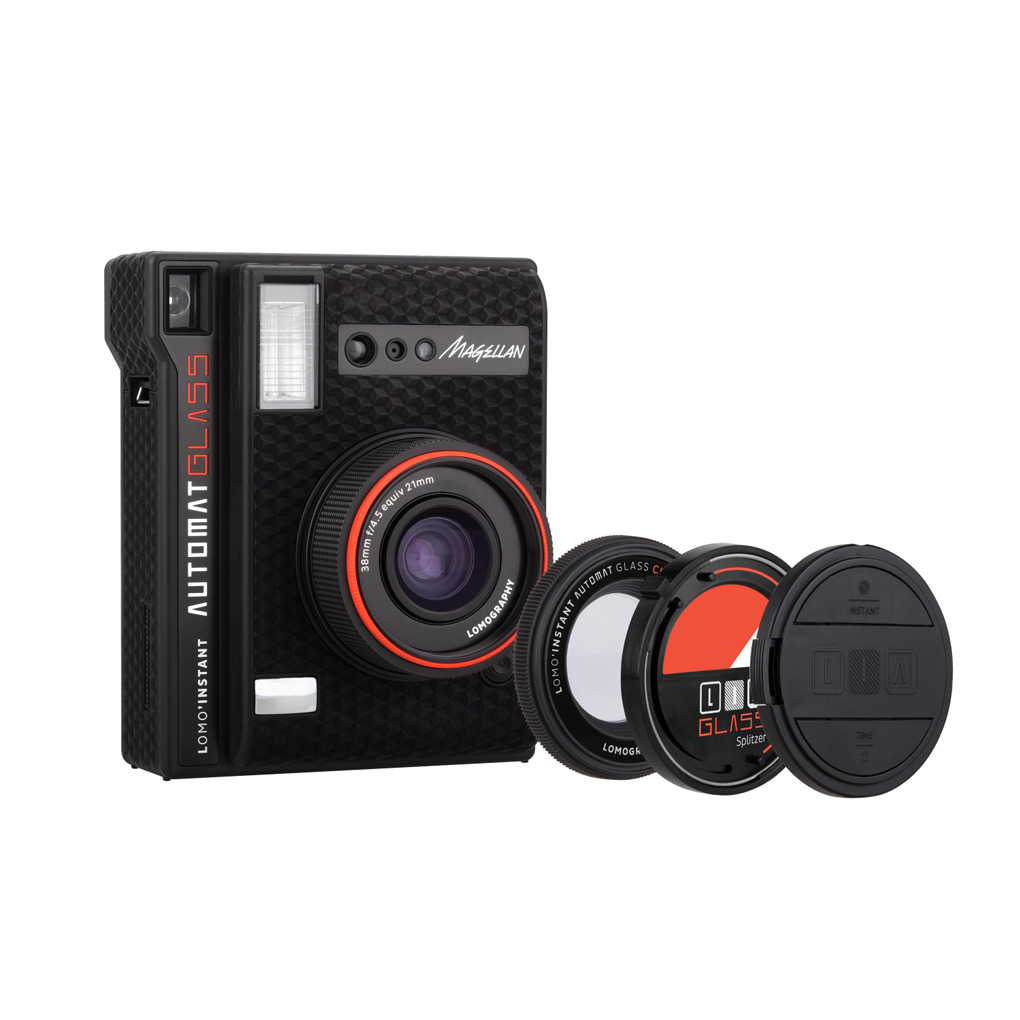 LOMOGRAPHY INSTANT AUTO GLASS AND LENSES CAMERA